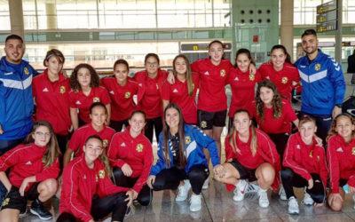 > Nuestro Infantil A en la East Mallorca Girl Cup