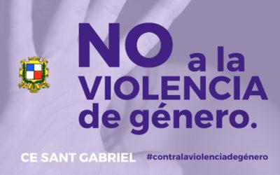 > 25 noviembre – No más violencia de género