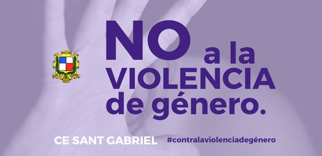 25 Noviembre - Dia Internacional por la eliminación contra la violencia de género - CE SANT GABRIEL
