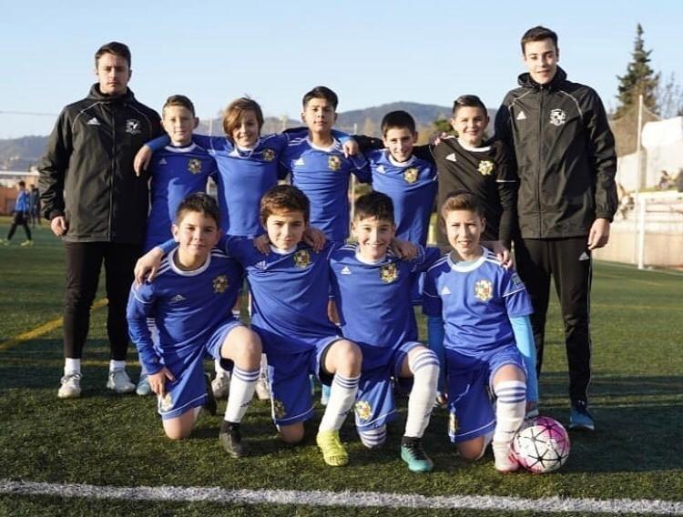 Alevín B masculino CE Sant Gabriel - Torneo Canyelles Cup 2020