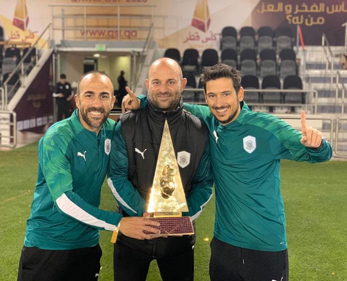 David Prat, Toni Lobo y Sergio García campeones de la Copa Qatar