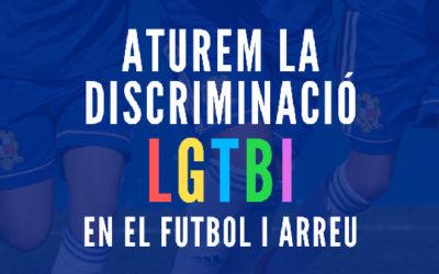 > Aturem la discriminació LGTBI en el futbol i arreu