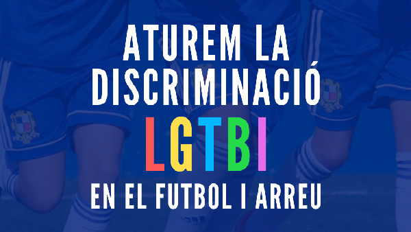 Aturem la discriminació LGTBI en el futbol i arreu | CE Sant Gabriel