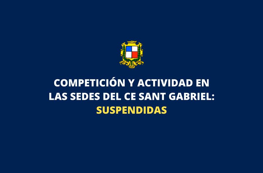 11 Marzo 2020 - Actividad suspendida por Covid-19