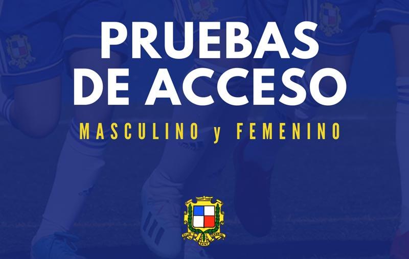 Pruebas de acceso - CE Sant Gabriel - Temporada 2020/2021 - Fútbol femenino y masculino
