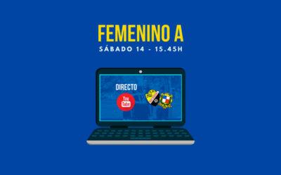> FEMENINO A: Jornada 5 en directo Youtube
